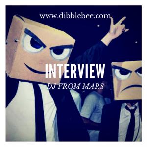 Dibblebee Show 43 ft DJs from Mars